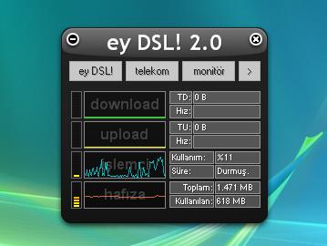 Ey DSL! 2.0 Windows Vista Hata ekran görüntüsü