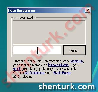 Ey DSL! 2.0 da TTNet Kota Sorgulama Çalışmıyor Ekran Görüntüsü